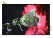 Water Drops On Carnation Carry-all Pouch