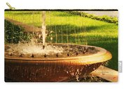 Water Fountain Garden Carry-all Pouch