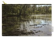 Water Garden Lake View Carry-all Pouch