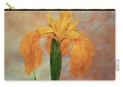 Water Iris - Textured Carry-all Pouch