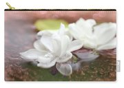 Water Lilac Carry-all Pouch