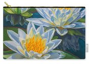 Water Lilies 12 - Fire And Ice Carry-all Pouch