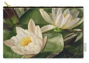 Water Lilies Carry-all Pouch