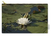 Water Lilies And Pads Carry-all Pouch