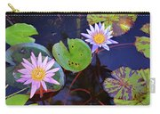 Water Lilies In Kauai Carry-all Pouch