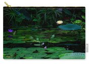 Water Lilies In The Pond Carry-all Pouch