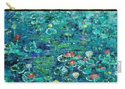 Water Lilies Lily Pad Lotus Water Lily Paintings Carry-all Pouch