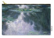 Water Lilies, Nympheas, 1907 Carry-all Pouch