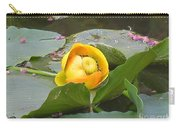 Water Lilly Carry-all Pouch by Diane Greco-Lesser