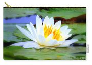 Water Lily - Digital Painting Carry-all Pouch