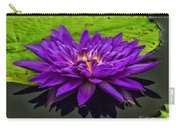 Water Lily 15-2 Carry-all Pouch