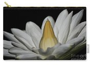 water lily 25 White Night Blooming Water Lily I Carry-all Pouch