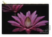 water lily 27 Dark Pink Night Blooming Water Lily Carry-all Pouch