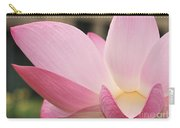 water lily 32 Pink Lotus Macro Carry-all Pouch