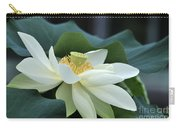 water lily 34 Yellow Lotus I Carry-all Pouch