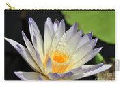 water lily 48 Green Smoke Carry-all Pouch