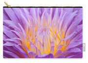 water lily 55 Ultraviolet Carry-all Pouch
