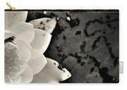 Water Lily And Fly Carry-all Pouch