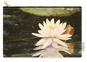 Water Lily And Pads Carry-all Pouch