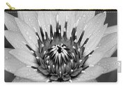 Water Lily B/w Carry-all Pouch