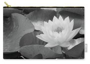 Water Lily - Burnin' Love 13 - Bw Carry-all Pouch