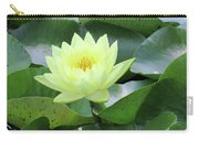 Water Lily - Burnin' Love 14 Carry-all Pouch