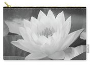 Water Lily - Burnin' Love 16 - Bw - Water Paper Carry-all Pouch