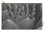Water Lily Flame Bw Carry-all Pouch