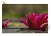 Water Lily - Id 16235-220248-4550 Carry-all Pouch
