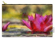 Water Lily - Id 16235-220419-3506 Carry-all Pouch