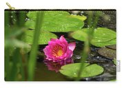 Water Lily In A Pond Carry-all Pouch