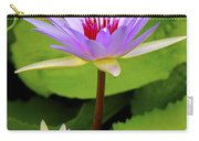 Water Lily In A Tropical Garden_4657 Carry-all Pouch