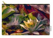 Water Lily In Living Color Carry-all Pouch