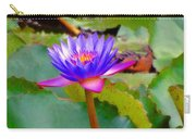 Water Lily In Tahiti Carry-all Pouch