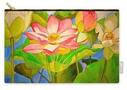 Water Lily Lotus Carry-all Pouch