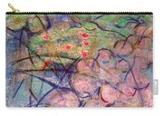 Water Lily Monotype Carry-all Pouch