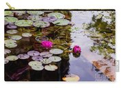 Water Lily Near Rijksmuseum Museum Carry-all Pouch