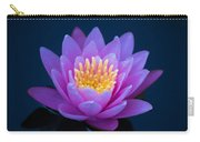 Water Lily Of The Dawn Carry-all Pouch