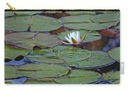 Water Lily Scene Carry-all Pouch
