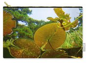 Water Lily Sky Carry-all Pouch