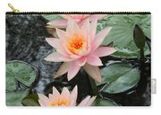 Water Lily Trio Carry-all Pouch