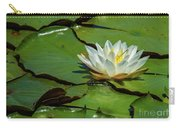 Water Lily With Friend Carry-all Pouch