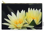 Water Lily Yellow Nymphaea Carry-all Pouch