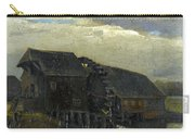 Water Mill At Opwetten Vincent Van Gogh Carry-all Pouch