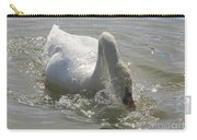 Water Off A Swan's Back Carry-all Pouch