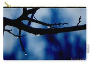 Water On Branch Carry-all Pouch