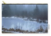 Water On Ice In Fog Carry-all Pouch