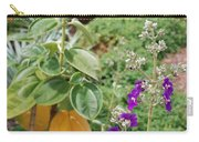 Water Plants And Flower Carry-all Pouch