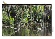 Water Reeds And Spanish Moss Carry-all Pouch