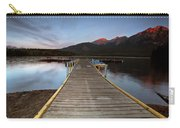 Water Reflections At Pyramid Lake Carry-all Pouch